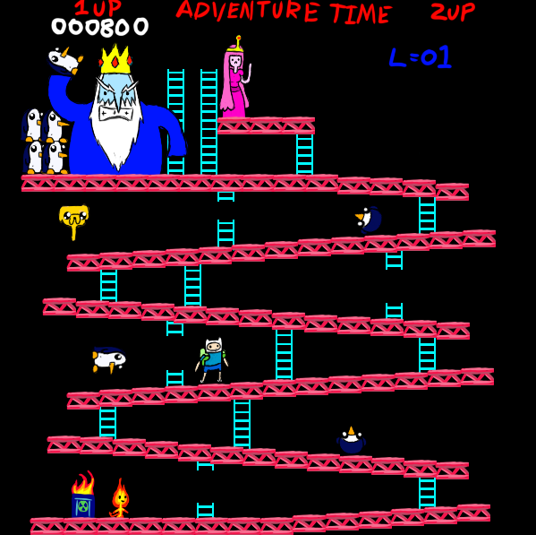 Adventure Time DK by fallenjrblue