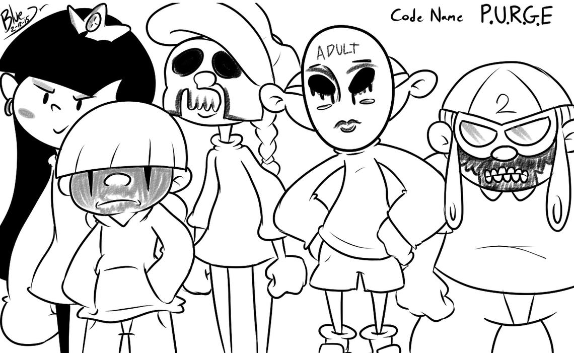 Kids Next Purge by fallenjrblue