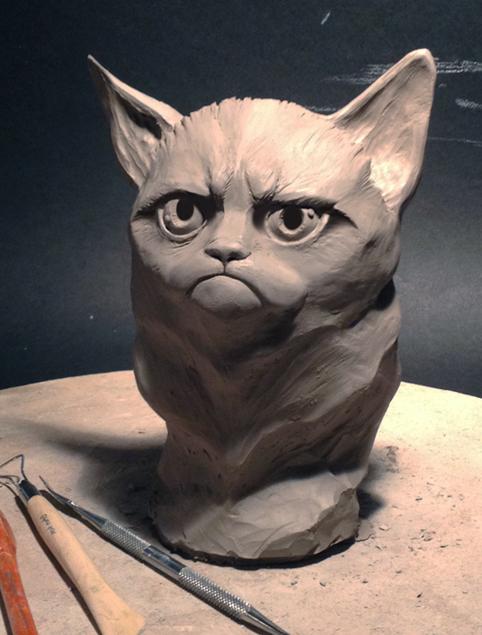 Grumpy Portrait by ChrisCalver