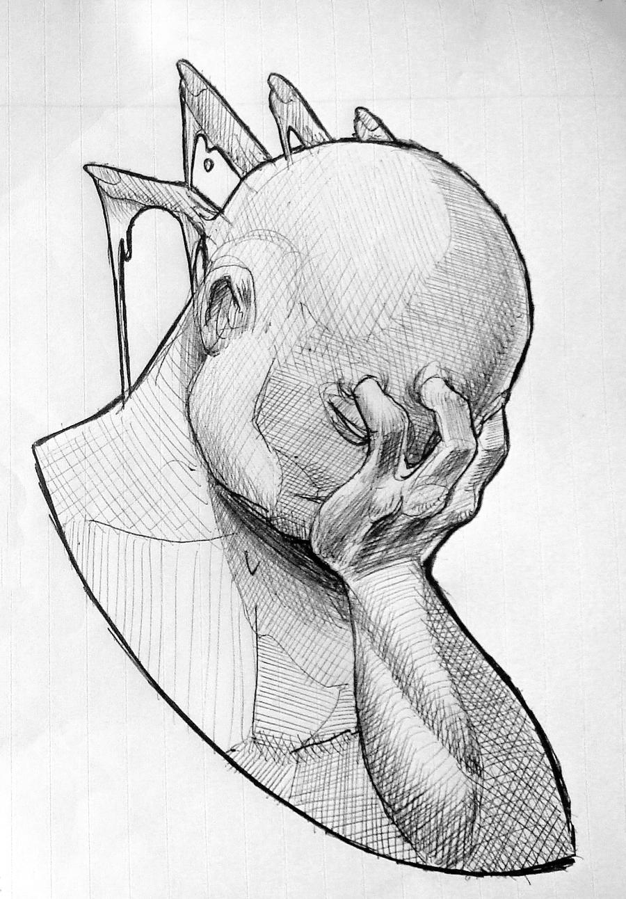 Easy Depression Drawings 80650 Loadtve