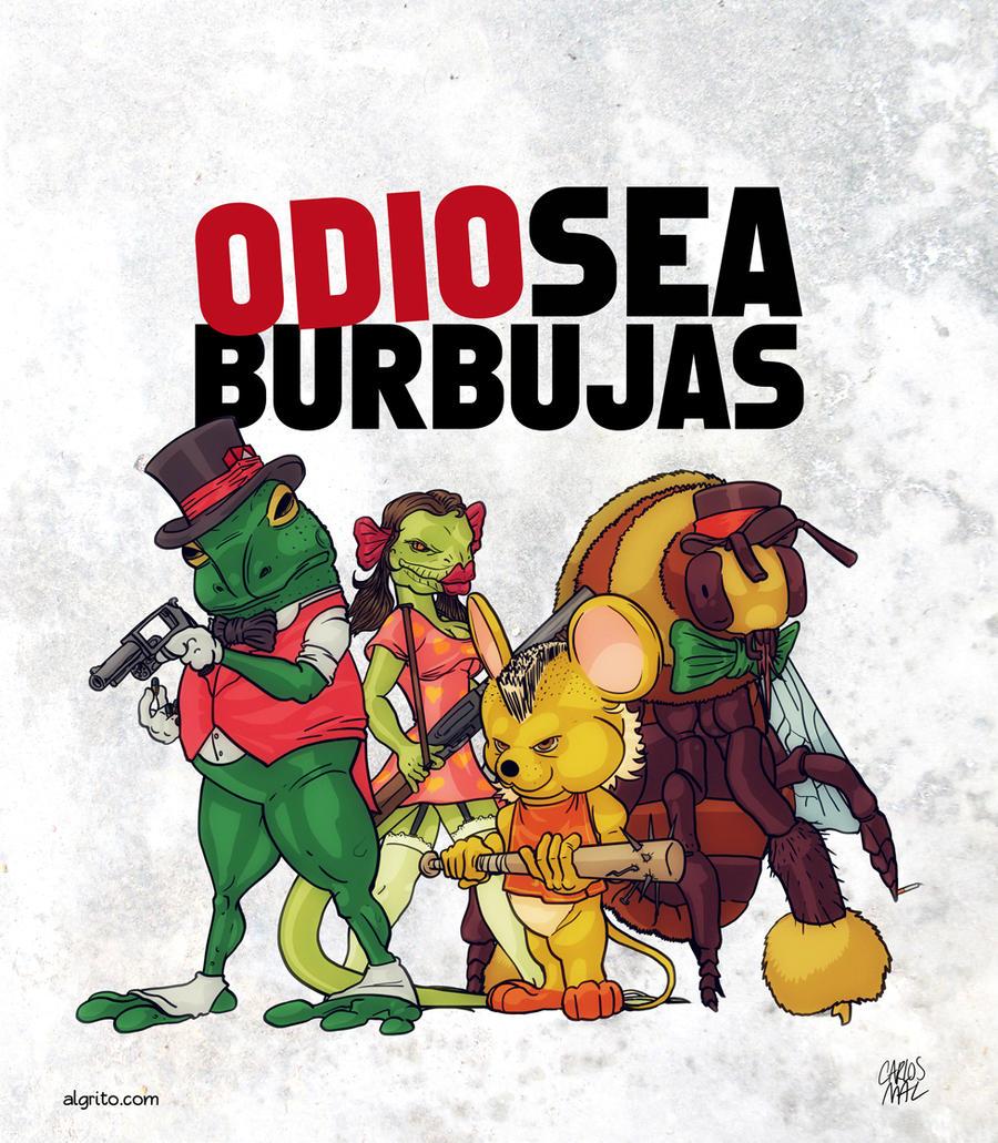 Odiosea Burbujas by thecarlosmal