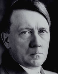 Hitler without mustache by thecarlosmal
