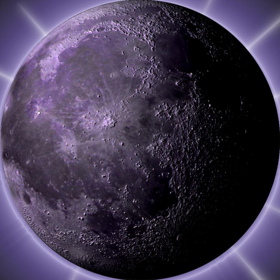 Pruple Moon by Sitana