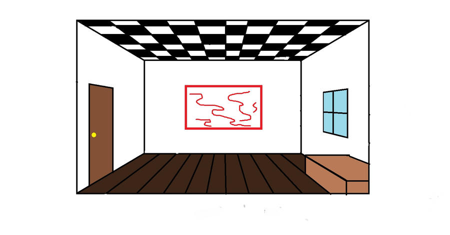 1 point perspective room by Sitana