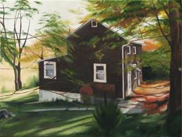 Grandfathers House by kamicokrolock