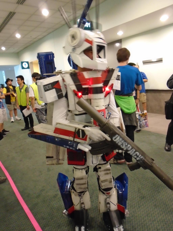 Robotech cyclone cosplay