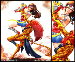 Wonder Woman vs. Cheetah (Minerva)
