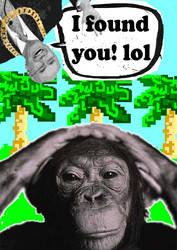 J.Howard and chimpanzee
