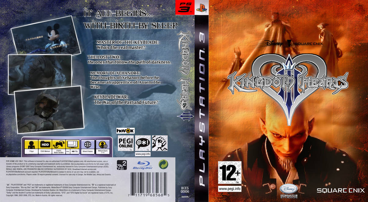 Kingdom Hearts PS3 by IcarusFlight1