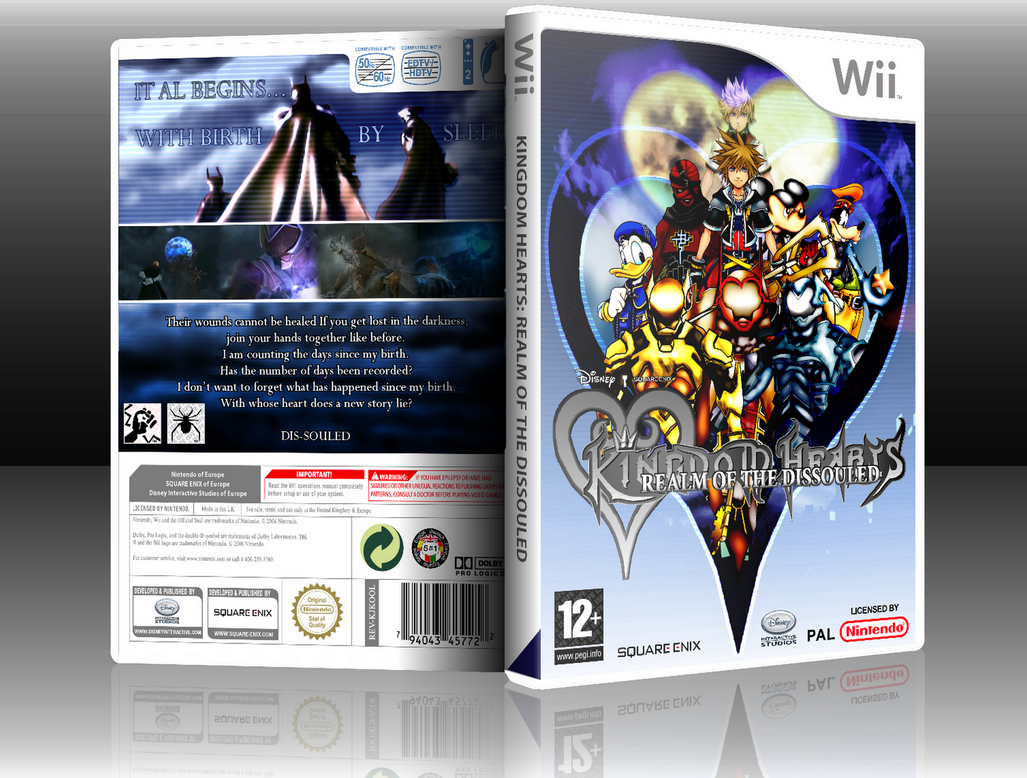 Kingdom Hearts Series by IcarusFlight1