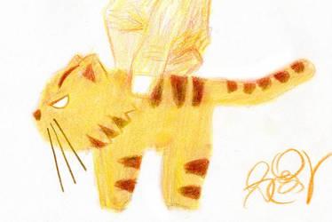 Palmtop Tiger 1 by dzhu
