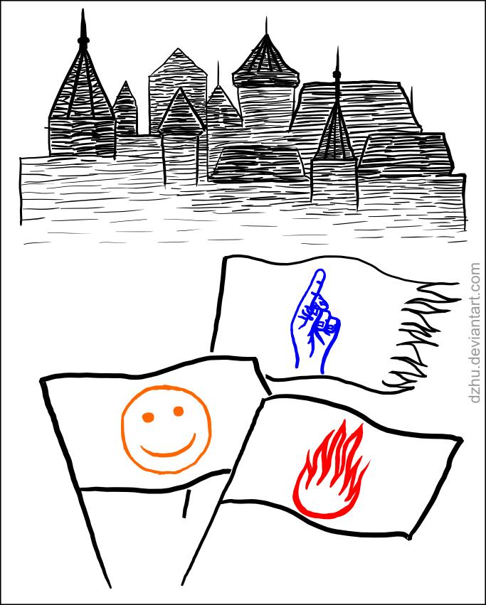 Three armies