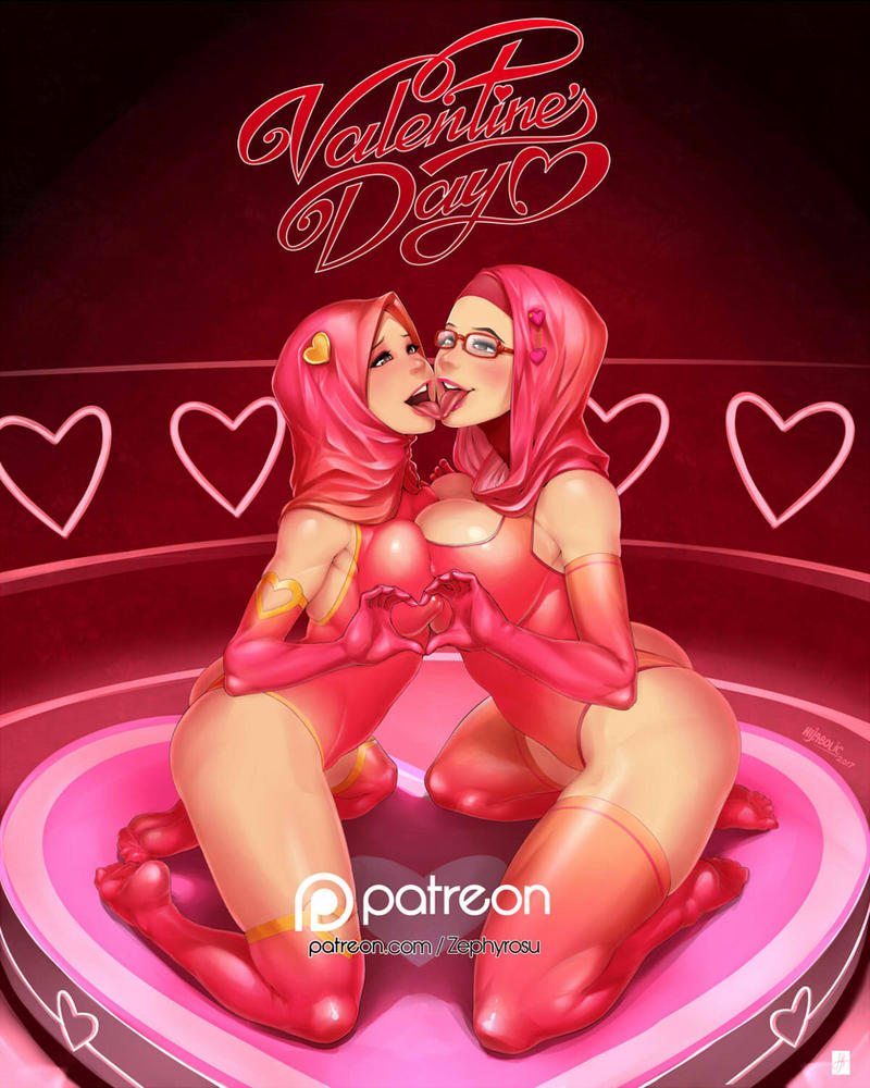 Valentine's Day Double Frenzy by Zephyrosu