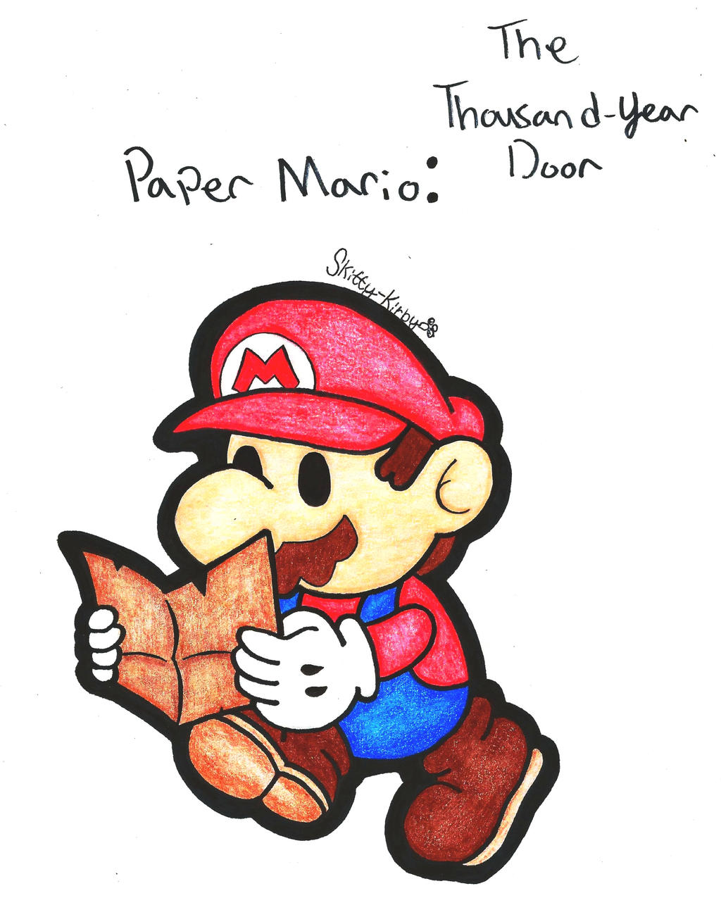 paper mario the thousand year door strategy guide