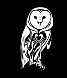 b5b745e28 AniDandelion 115 32 Tribal Barn Owl by CoyoteHills