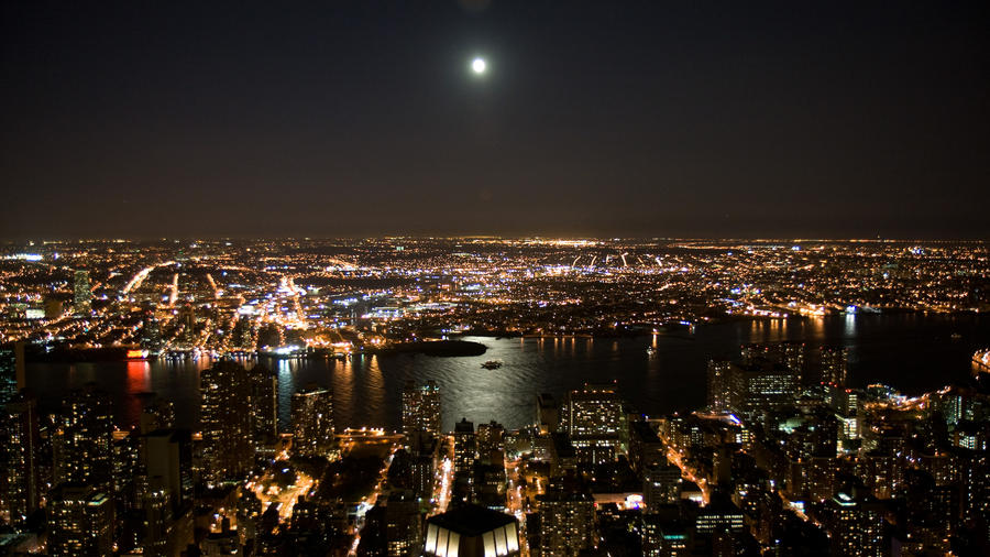 pictures of new york city at night. New York City Night by ~parka