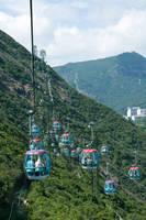 Ocean Park Cable Car by parka