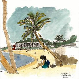 Sentosa Beach 2