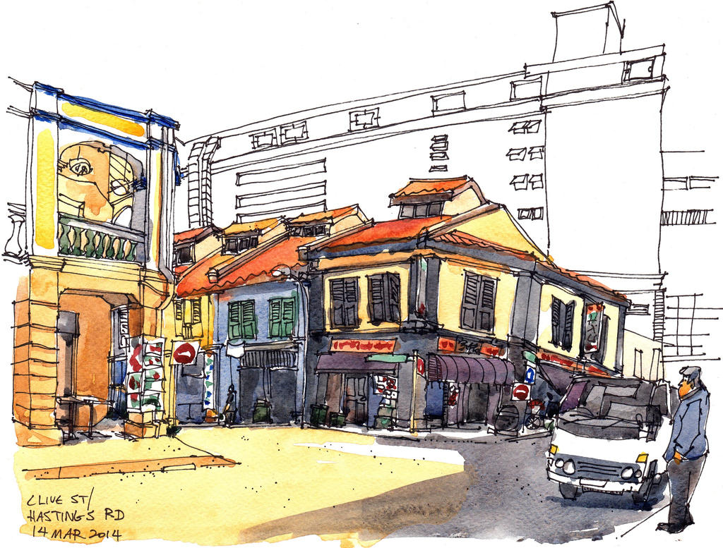 Clive St (14 Mar 2014) by parka