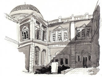 Side of Singapore National Museum (15 Mar 2014)
