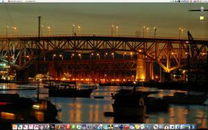 Bridge at Night by parka