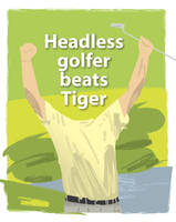 Headless Golfer by parka