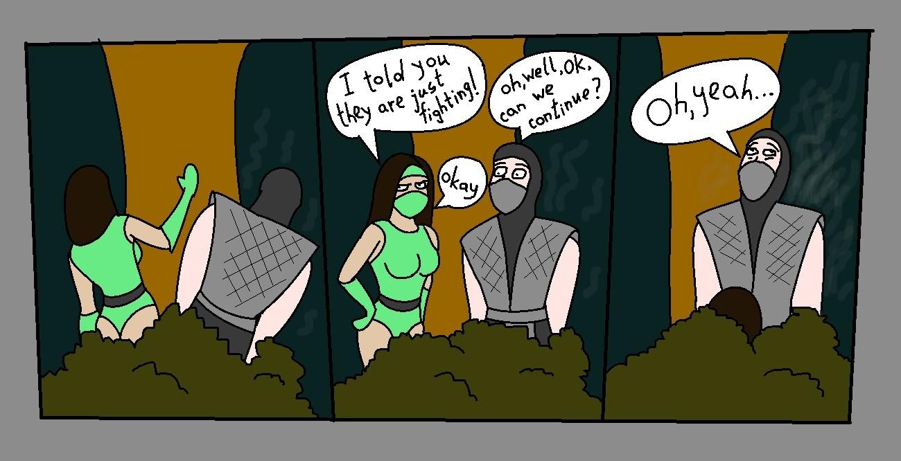 mortal kombat 9 jade and smoke wwwpixsharkcom images