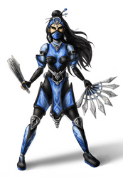 My own Kitana redesign by Levon-Harutunyan