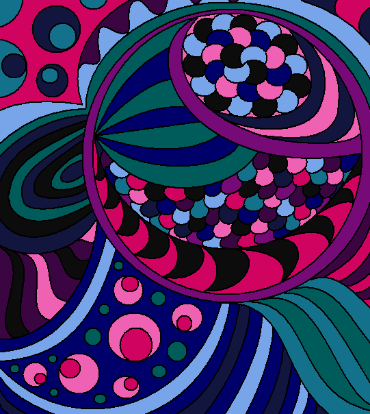 Colour Line Art Design : Abstract lineart color by drachenlilly on deviantart