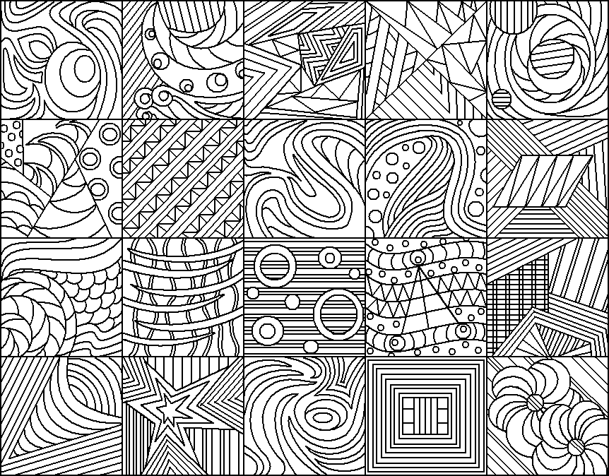Line Art Patterns : Abstract group by drachenlilly on deviantart