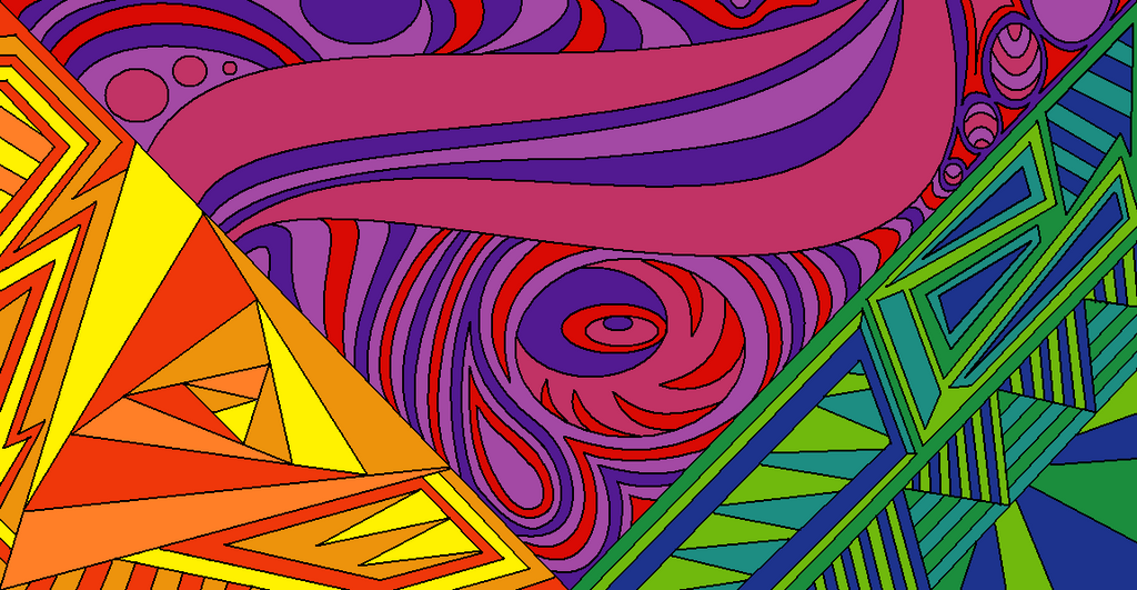 Line Art Design Abstract : Abstract lineart color by drachenlilly on deviantart