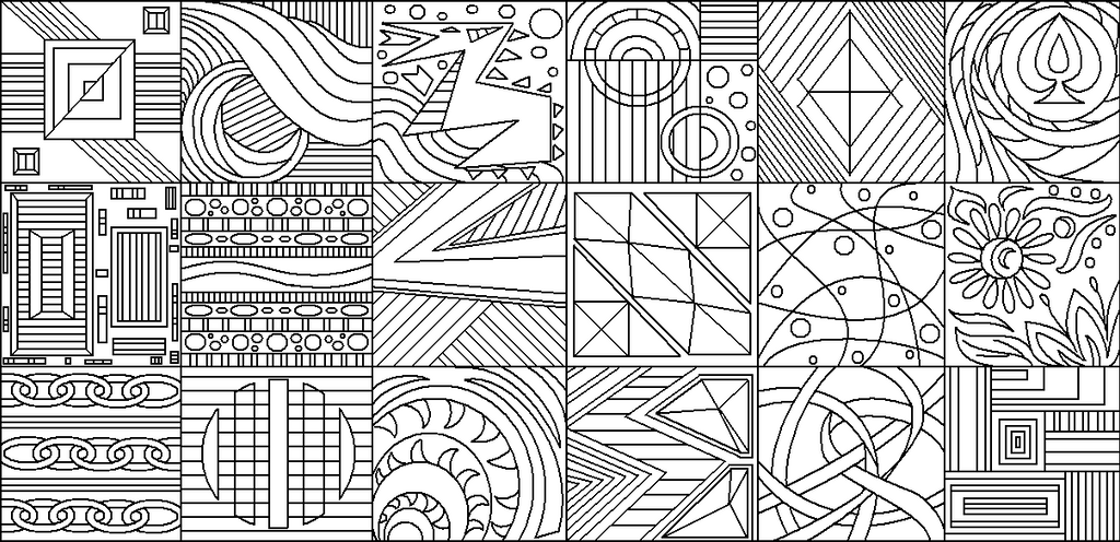 Abstract Line Art Paintings : Abstract group by drachenlilly on deviantart