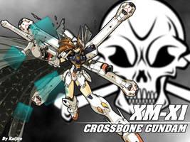 MS Girl Crossbone Wallpaper by KaijiroCustomWorks