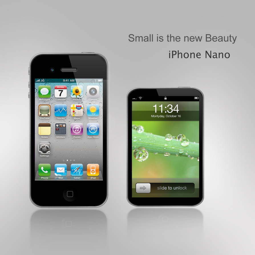 iPhone Nano by DorianDarko