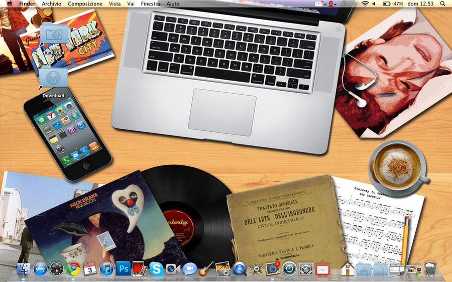 Macbook Pro Desk