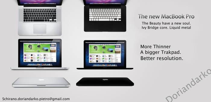 New Macbook Pro mockup