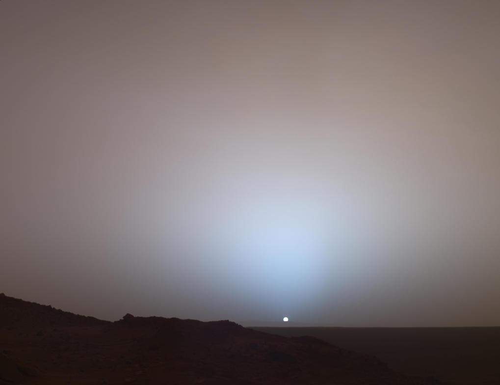 Mars sunset by milotis on deviantart - Mars sunset wallpaper ...
