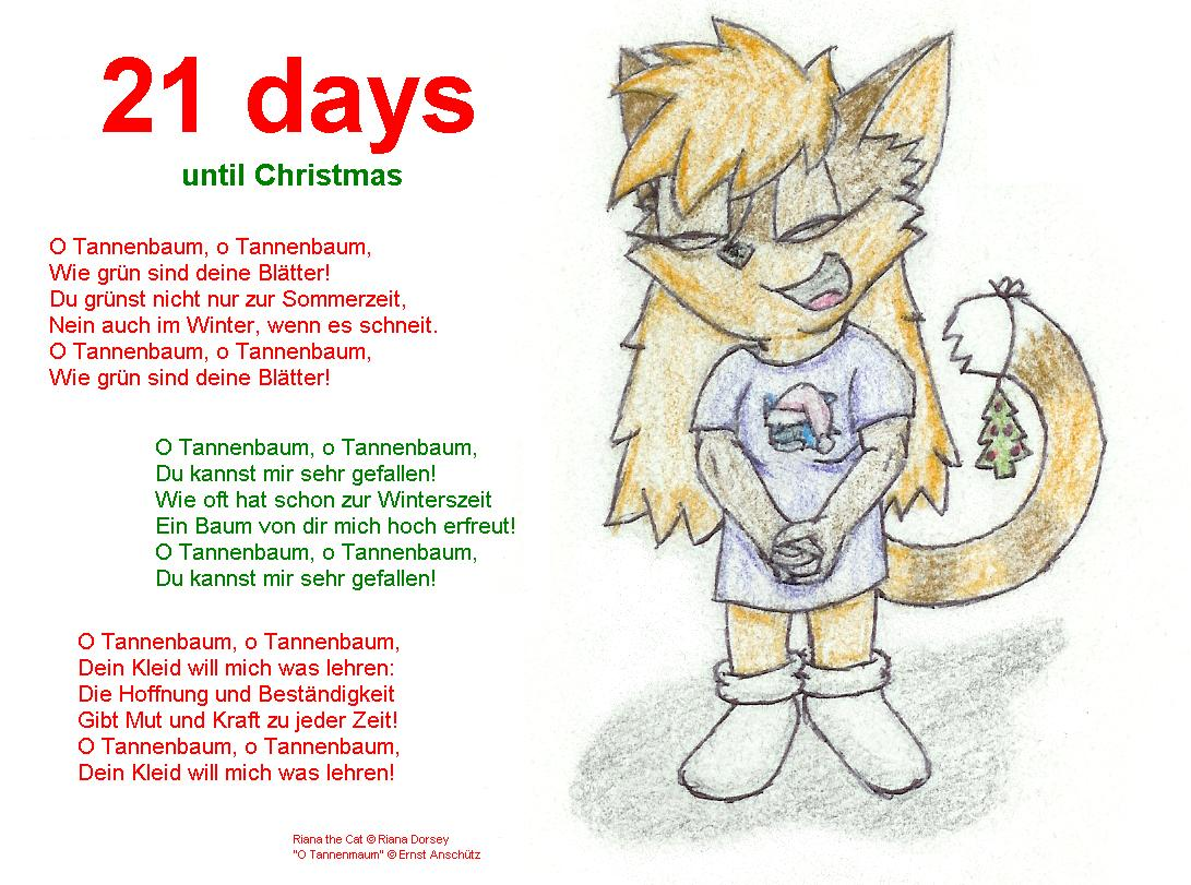 21 days until christmas 2007 by ryanwolfseal - How Much Longer Till Christmas