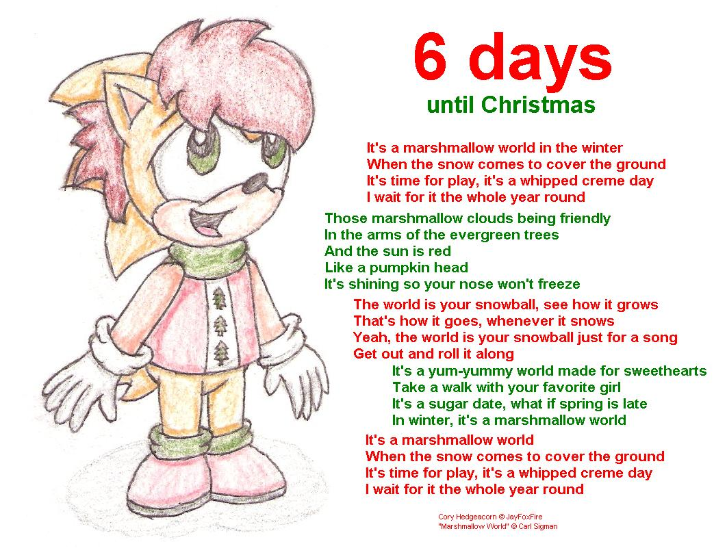 6 days until Christmas 2007 by