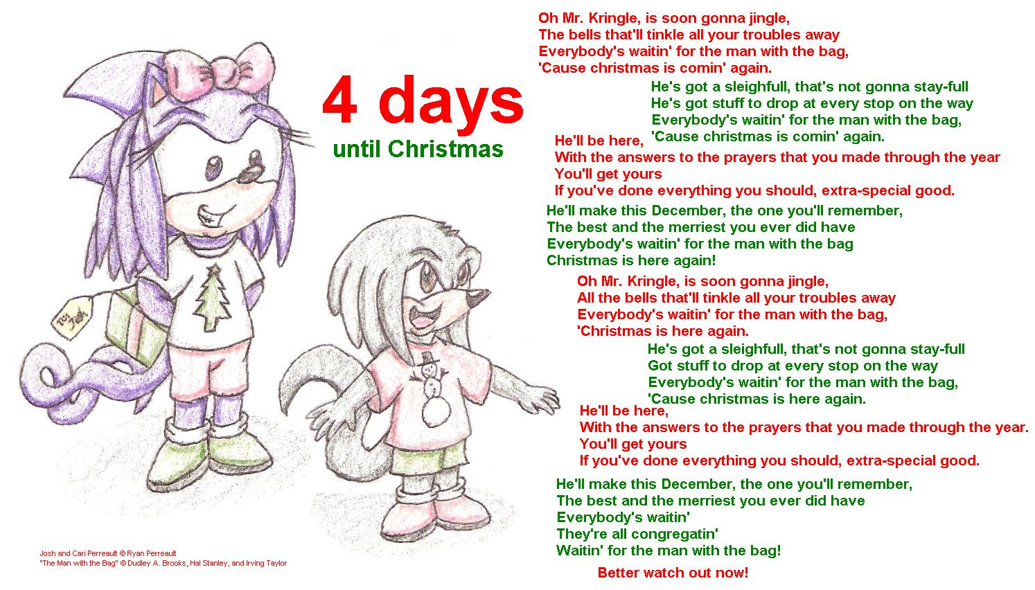 4 days until Christmas 2007 by RyanWolfSEAL on DeviantArt