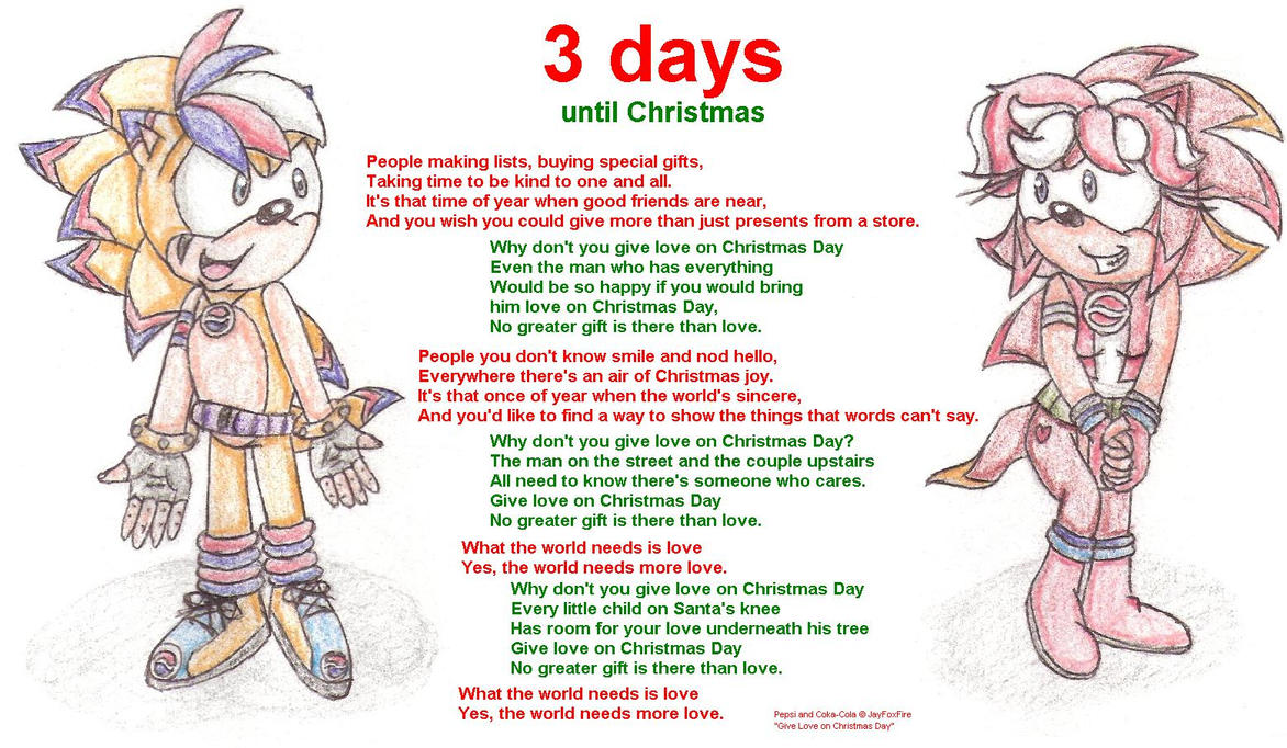 3 days until christmas 2007 by ryanwolfseal