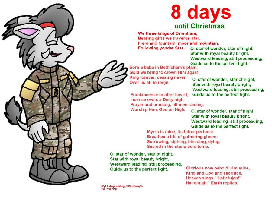 8 days until Christmas (10 year anniversary) by RyanWolfSEAL on ...