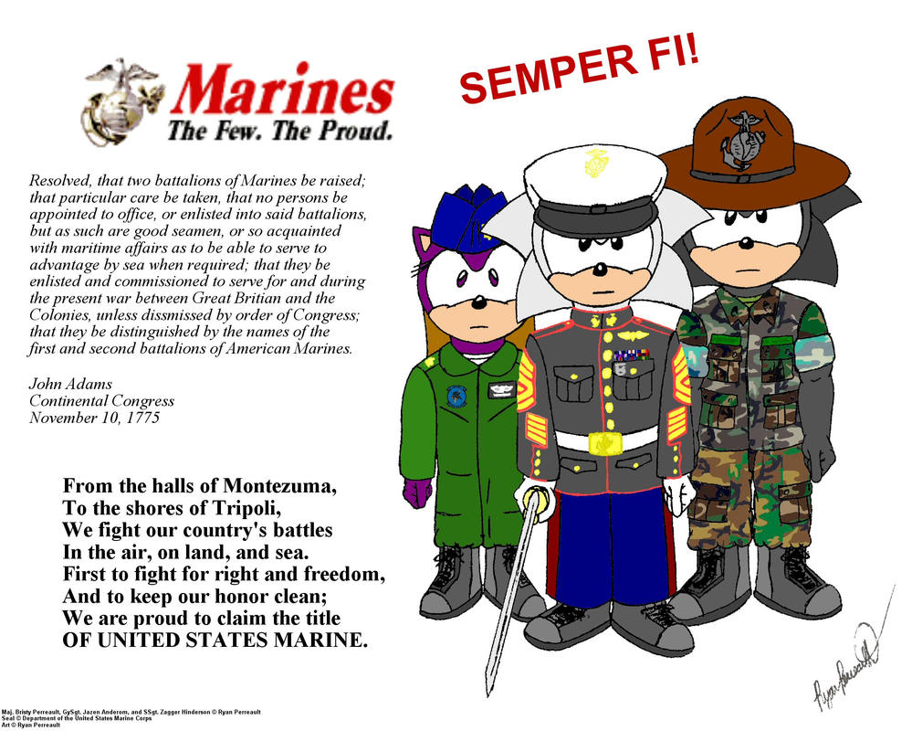 Happy Birthday Marine Corps by RyanEchidnaSEAL