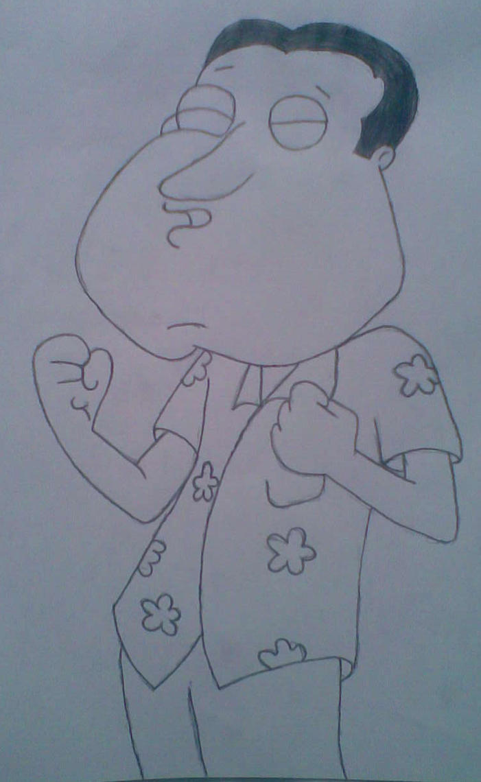 Quagmire - Family Guy by  Quagmire Family Guy Draw
