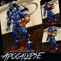 Apocalypse Custom (w. Infinity Gauntlet) by LouandAidens
