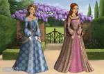 Tudor Era Disney Ladies 5