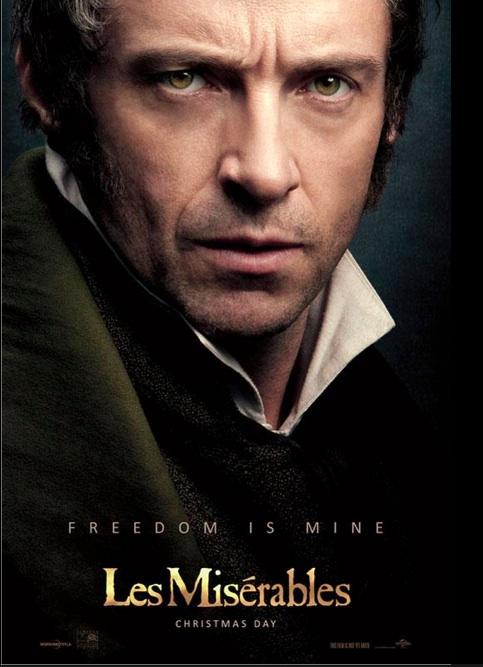 Jean Valjean Poster 2012 by KatePendragon
