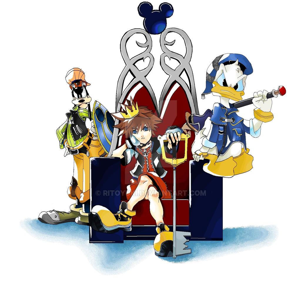 MS Paint: Kingdom Hearts by RitoYuki