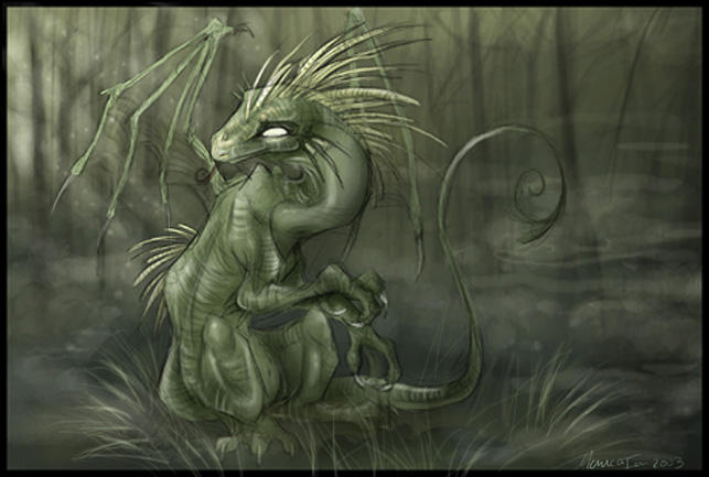 Swamp Dragon by malta