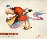 Species 03 - Kraken Parrot